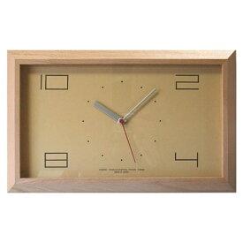 フォーカススリー FOCUS THREE 掛け時計 黄金比の時計 ナチュラル V-0004