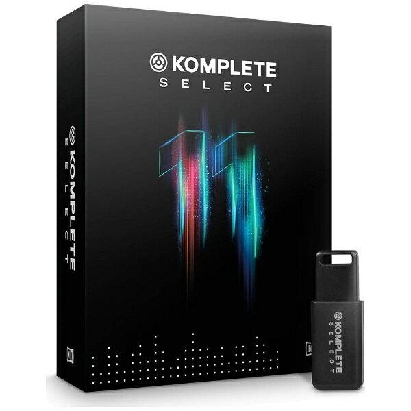 【送料無料】 ネイティブインストゥルメンツ KOMPLETE11 SELECT (11KOMPLETE インストゥルメント&エフェクト)