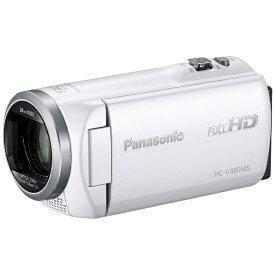 パナソニック Panasonic HC-V480MS ビデオカメラ ホワイト [フルハイビジョン対応][HCV480MS]