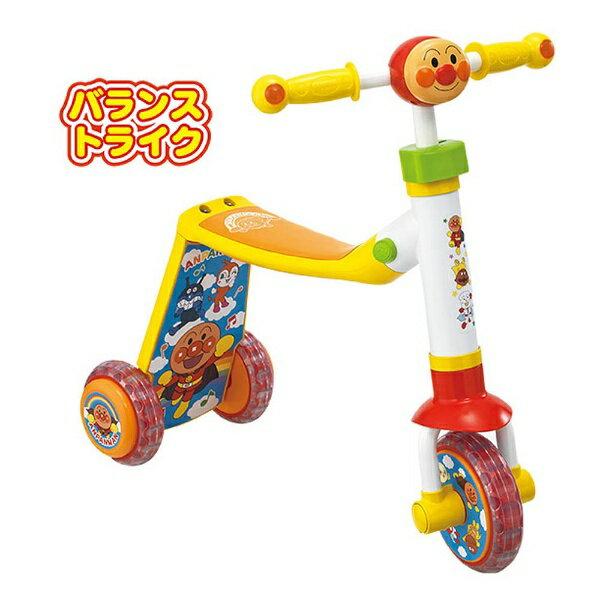 【送料無料】 ジョイパレット それいけ!アンパンマン かんたんチェンジ!2WAYスクーター