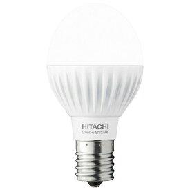 日立 HITACHI LDA6D-G-E17/S/60E LED電球 小形電球形 [E17 /昼白色 /60W相当 /一般電球形 /広配光タイプ][LDA6DGE17S60E]