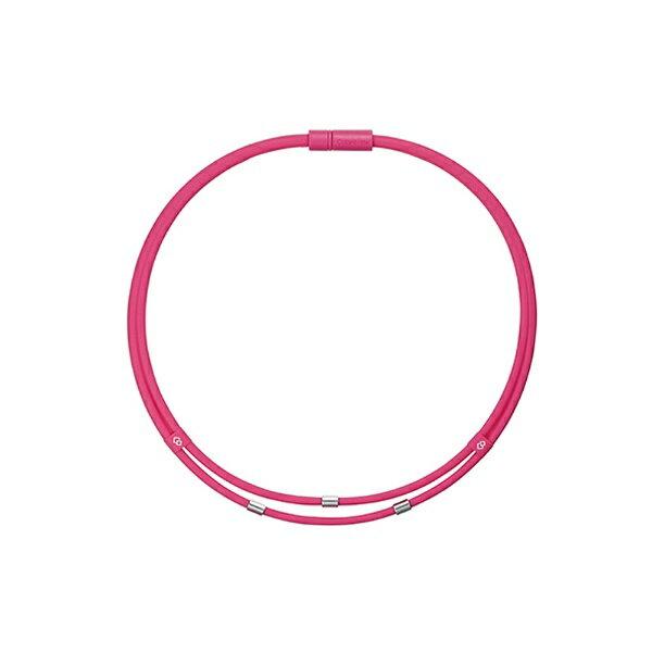 コラントッテ ネックレス ワックルネック TWIN(Mサイズ/ピンク) ABAAU12M