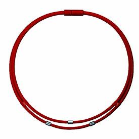 コラントッテ Colantotte ネックレス ワックルネック TWIN(Lサイズ/レッド) ABAAU02L