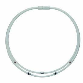 コラントッテ Colantotte ネックレス ワックルネック TWIN(Lサイズ/ホワイト) ABAAU03L