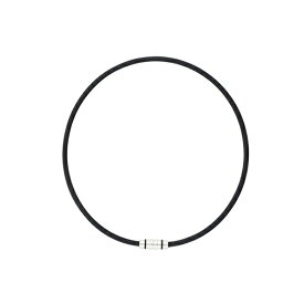 コラントッテ Colantotte ネックレス クレスト(Lサイズ/ブラック) ABAAS01L