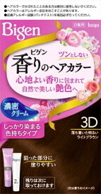 ホーユー hoyu Bigen(ビゲン) 香りのヘアカラー クリーム 3D 落ち着いた明るいライトブラウン 〔カラーリング剤〕