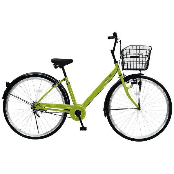 【送料無料】 チャクル 27型 ノーパンク自転車 CHACLE(ライムグリーン/シングルシフト) CHP-CC270V【組立商品につき返品不可】 【代金引換配送不可】【メーカー直送・代金引換不可・時間指定・返品不可】