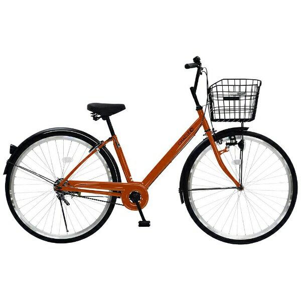 【送料無料】 チャクル 27型 ノーパンク自転車 CHACLE(オレンジ/シングルシフト) CHP-CC270V【組立商品につき返品不可】 【代金引換配送不可】【メーカー直送・代金引換不可・時間指定・返品不可】