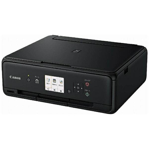 【送料無料】 キヤノン CANON A4インクジェットプリンター [無線LAN/USB2.0] PIXUS TS5030BK (ブラック)[PIXUSTS5030BK]