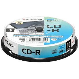 三菱ケミカルメディア MITSUBISHI CHEMICAL MEDIA 【ビックカメラグループオリジナル】データ用CD-R 700MB 10枚【スピンドル / インクジェットプリンタ対応】 SR80FP10SD1-B【point_rb】