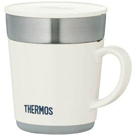 サーモス THERMOS 保温マグカップ (240ml) JDC-241-WH ホワイト[JDC241]