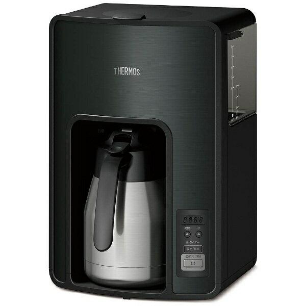 【送料無料】 サーモス 真空断熱ポット コーヒーメーカー (1.0L) ECH-1001-BK ブラック[ECH1001]