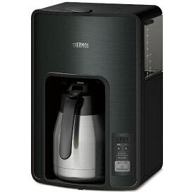 サーモス THERMOS ECH-1001 コーヒーメーカー ブラック[ECH1001]