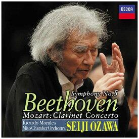ユニバーサルミュージック 小澤征爾(cond)/ベートーヴェン:交響曲第5番≪運命≫ 他 【CD】