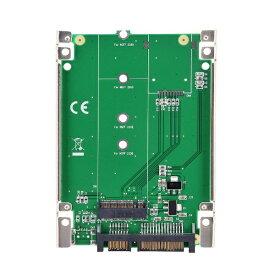 センチュリー Century Corporation M.2(NGFF)SSD→7mm厚2.5インチSATA 変換アダプター 裸族のインナー for M.2 CRIN25M2