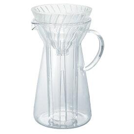 ハリオ HARIO ドリッパー付ピッチャー 「V60グラスアイスコーヒーメーカー」(700ml) VIG-02T クリア[VIG02T]