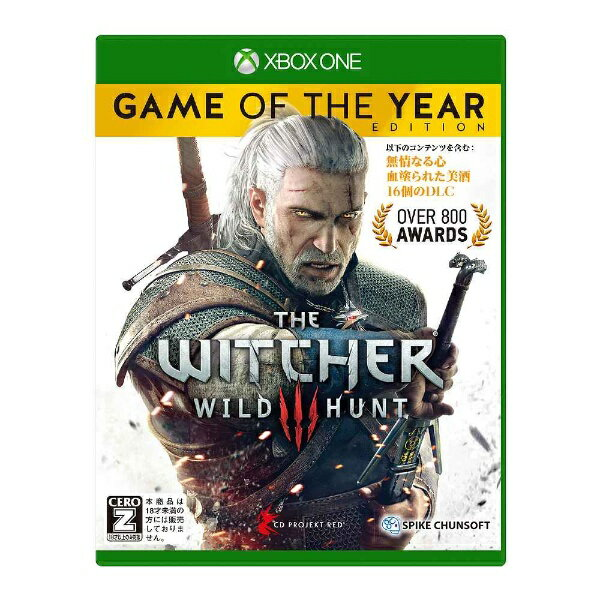 スパイクチュンソフト ウィッチャー3 ワイルドハント ゲームオブザイヤーエディション【Xbox Oneゲームソフト】