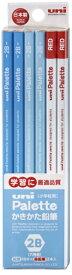 三菱鉛筆 MITSUBISHI PENCIL [鉛筆] ユニパレット パステルブルー+赤鉛筆 (硬度:2B) 1ダース K55632B