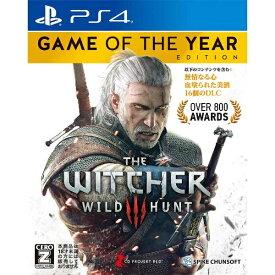スパイクチュンソフト Spike Chunsoft ウィッチャー3 ワイルドハント ゲームオブザイヤーエディション【PS4ゲームソフト】