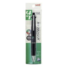 三菱鉛筆 MITSUBISHI PENCIL [多機能ペン] ジェットストリーム 多機能ペン 4&1 MSXE5-1000 ブラック (ボール径:0.5mm+芯径0.5mm) パック商品 MSXE510005P24