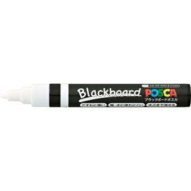 三菱鉛筆 MITSUBISHI PENCIL [サインペン] ブラックボードポスカ 中字丸芯 白 PCE2005M1P.1