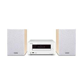 オンキヨー ONKYO ミニコンポ X-U6(W) [ワイドFM対応 /Bluetooth対応][CDコンポ XU6W]