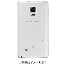 au エーユー 【au純正】 背面カバー Frost White SCL24TWA [GALAXY Note Edge SCL24対応]