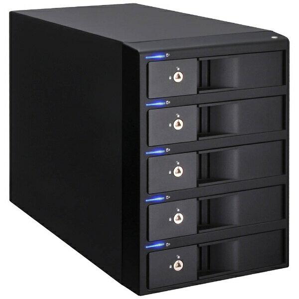 センチュリー Century Corporation USB3.0&eSATA対応 HDDケース 裸族のインテリジェントビル5Bay USB3.0+eSATAコンボVer.2 CRIB535EU3V2
