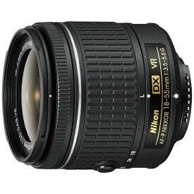 ニコン Nikon カメラレンズ AF-P DX NIKKOR 18-55mm f/3.5-5.6G VR APS-C用 NIKKOR(ニッコール) ブラック [ニコンF /ズームレンズ][AFPDX1855VR]