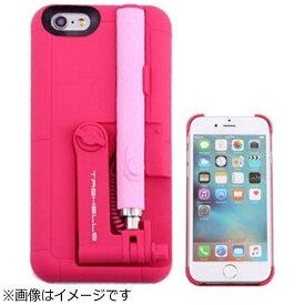 HAMEE ハミィ iPhone 6s/6用 セルフィースティック付きハードケース ピンク