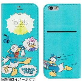 HAMEE ハミィ iPhone 6s/6用 手帳型 ディズニー フリップ窓付きダイアリーケース ドナルド