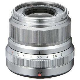 富士フイルム FUJIFILM カメラレンズ XF23mmF2 R WR【FUJIFILM Xマウント】(シルバー)[FXF23MMF2RWRS]