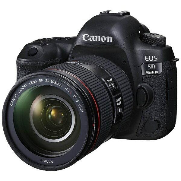 キヤノン CANON EOS 5D Mark IV(WG)【EF24-105L IS II USM レンズキット】/デジタル一眼レフカメラ[EOS5DMK424105IS2LK]