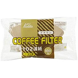 カリタ Kalita NK102濾紙 ブラウン 100枚入 13125