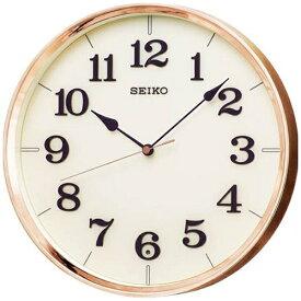 セイコー SEIKO 掛け時計 【ナチュラルスタイル】 銅色 KX221G [電波自動受信機能有]