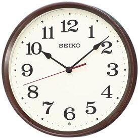 セイコー SEIKO 掛け時計 【ナチュラルスタイル】 茶メタリック KX223B [電波自動受信機能有][KX223B]