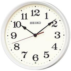 セイコー SEIKO 掛け時計 【ナチュラルスタイル】 白パール KX223W [電波自動受信機能有]