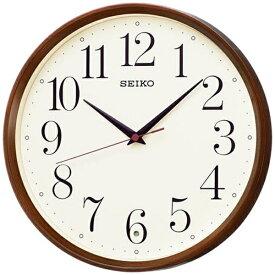 セイコー SEIKO 掛け時計 【ナチュラルスタイル】 濃茶木目模様 KX222B [電波自動受信機能有]