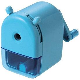 クツワ KUTSUWA [鉛筆削り] ミニ卓上えんぴつけずり ブルー RS026BL