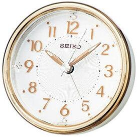 セイコー SEIKO 目覚まし時計 銅色光沢仕上げ KR897B [アナログ]