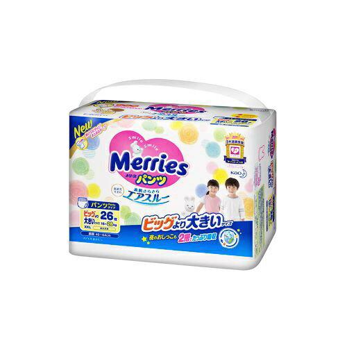 花王 Kao Merries(メリーズ) パンツ さらさらエアスルー ビッグより大きいサイズ 26枚