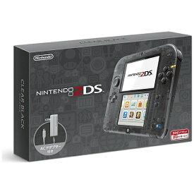 任天堂 Nintendo ニンテンドー2DS クリアブラック [ゲーム機本体][ニンテンドー2DSクリアブラック]