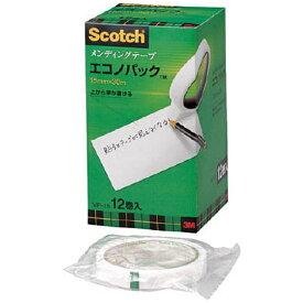 3Mジャパン スリーエムジャパン 3M メンディングテープエコノパック 15mmX30m 12巻入 巻芯径76mm MP-15
