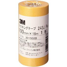 3Mジャパン スリーエムジャパン 3M マスキングテープ 243J Plus 100mmX18m 243J 100【rb_pcp】