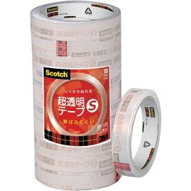 3Mジャパン スリーエムジャパン 3M スコッチ 超透明テープS 18mmX35m 10巻入シュリンクパック BK-18N