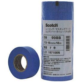 3Mジャパン スリーエムジャパン 3M マスキングテープ(コンクリート・タイル・パネル用)24mmX18m 5巻入 99BB 24X18