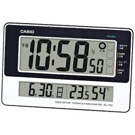 カシオ CASIO 掛け置き兼用時計 【wave ceptor(ウェーブセプター)】 ホワイト IDL170J7JF [電波自動受信機能有]