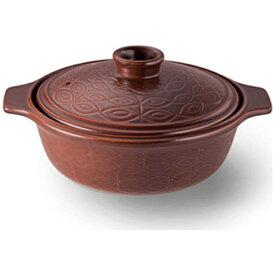 ビタクラフト Vitacraft 《IH非対応》耐熱陶器 ビタクラフト CCL ポティ 土鍋 7号 茶 4034[NO.4034]