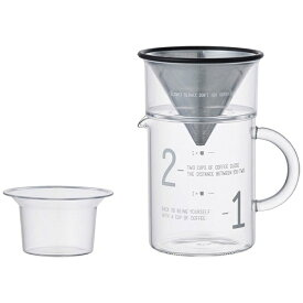 KINTO キントー SLOW COFFEE STYLE コーヒージャグセット 300ml[SCS02CJST27651]