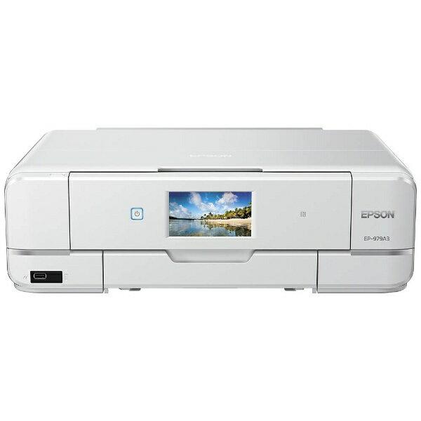 【送料無料】 エプソン EPSON A3インクジェットプリンター [USB2.0/無線LAN/有線LAN] Colorio EP-979A3